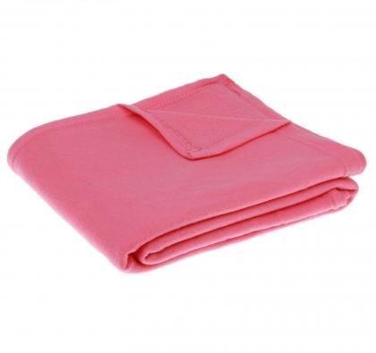 Плед Collorista розовый 130*170 см, 100% п/э, флис, 140 гр/м2