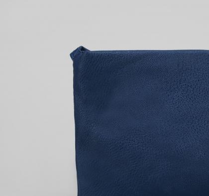 Сумка женская Сара, 1 отдел, длинный ремень, синий глянцевый
