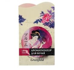 Ароматизатор для белья Гринфилд Японская серия Цветок пиона