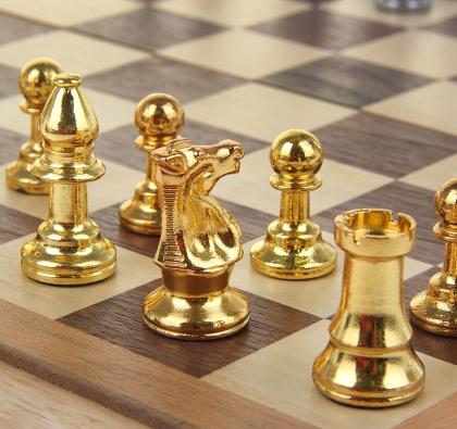 Шахматы, магнитные зажимы, поле 40 * 40 см