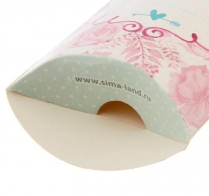 Бонбоньерка свадебная «С Любовью», 10 х 7,5 см
