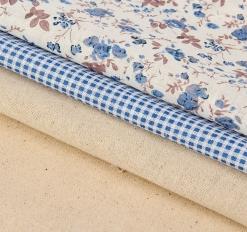 Набор ткани для пэчворка 3 шт «Создай уют», 30 * 40 см
