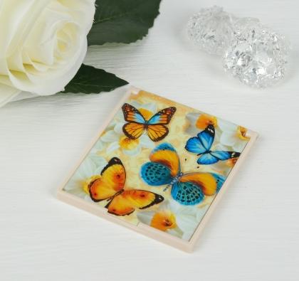 Зеркало складное «Бабочки»