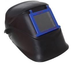 Щиток защитный лицевой сварщика Исток с откидным блоком светофильтра С-4 оголовье - храпов