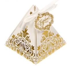 Бонбоньерка «Роскошь золота», 7,2 * 7,2 * 7,5 см