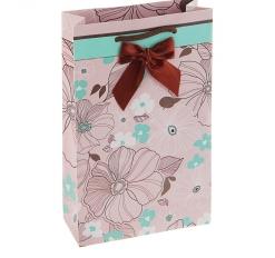Пакет подарочный Цветение люкс, 26.5 х 16.5 х 6.6 см