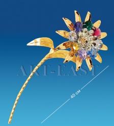 AR-3711/ 1 Фигурка  Цветок  с цв.кр.  Юнион