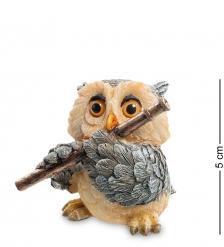 OL-6335-SB Фигура мал. Сова  Флейтист   Sealmark