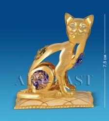 AR-3746/ 3 Фигурка «Кошка на подушке» с цв.кр.  Юнион