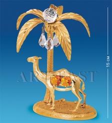 AR-4190/ 1 Фигурка  Верблюд с пальмой  с цв.кр.  Юнион