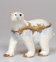 JB- 26 Шкатулка Белый Медведь