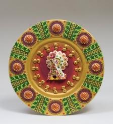 15759 Тарелка  декор, гипс