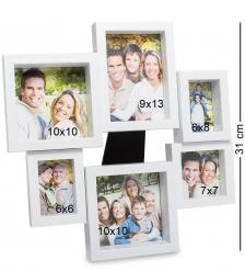 CHK-136 Панно-фоторамка «Семейная история»  на 6 фото: 9х13, 6х8, 7х7, 10х10