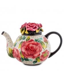 BS- 40 Заварочный чайник  Розы