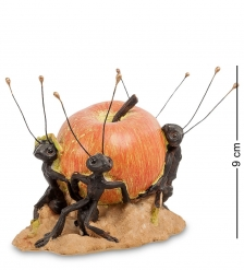 ED-119 Фигурка  Муравьи с яблоком -  Пир, пир, пир!