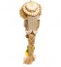 DO-067 Домовые и оберег Коса в соломенной шляпе с сундуком