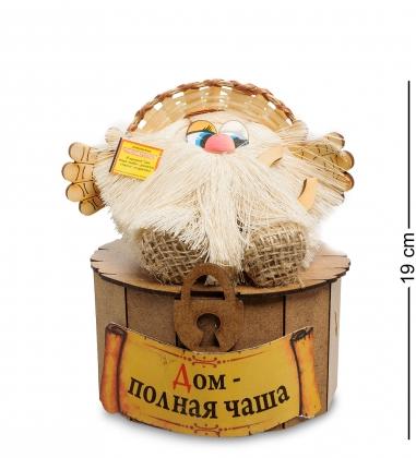 DO-042/ 2 Домовой Антошка на сундуке - Вариант A