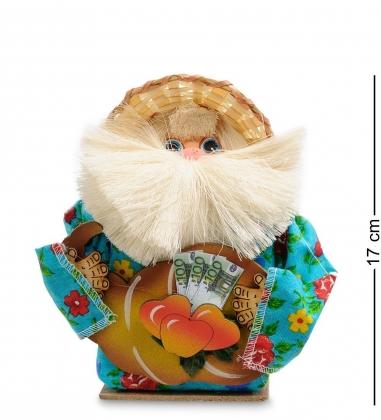 DO-043/ 3 Домовой Тимофейка в солом.шляпе и рогом изобилия