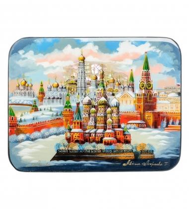ШК-55/ 77 Шкатулка Москва исп. Маркова