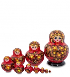 МР-43/ 1 Матрешка 10-кукольная  «Аленушка»