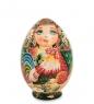 МР-16/15 Матрешка-Яйцо 5м «Мария с петухом»