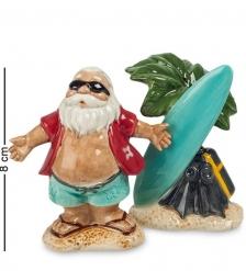 CMS-14/18 Набор cоль-перец  Дед Мороз на отдыхе   Pavone