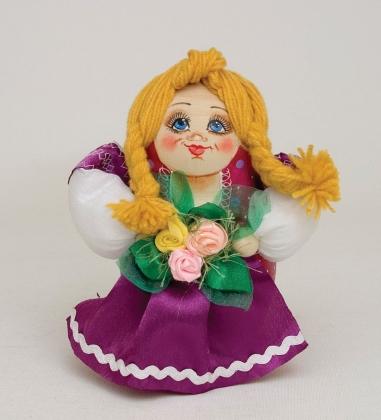 МР-29/ 8 Матрешка-Кукла  Девушка с цветами