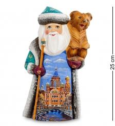 РД-20 Фигурка Дед Мороз  Резной  25см