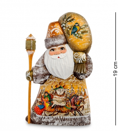 РД-60 Фигурка Дед Мороз  Резной  19см