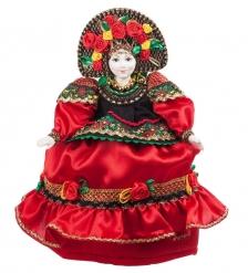 RK-762 Кукла-грелка  В традиционном платье