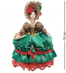 RK-733/ 1 Кукла-шкатулка «Дама с веером»