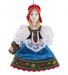 RK-627 Кукла подвесная  Красная шапочка
