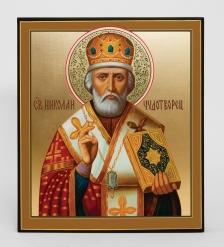 Икона «Святого Николая Чудотворца» 25см