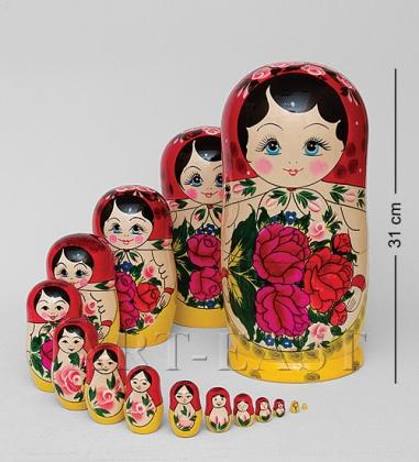 МР-10/13 Матрешка 15-кукольная  Семеновская