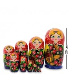МР-27/16-A Матрешка 10м «Настенька с корзинкой»