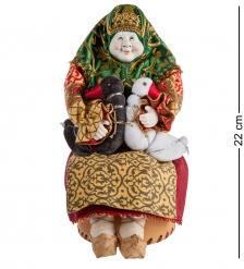 RK-728/1 Кукла-шкатулка «Жили у бабуси...»