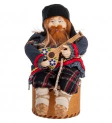 RK-725 Кукла-шкатулка «Дед с балалайкой»