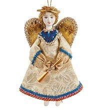 RK-420 Кукла подвесная Ангел с дудочкой - Вариант A
