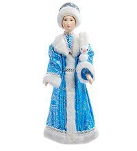 RK-153 Кукла  Снегурочка с зайцем