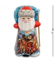 РД- 05 Фигурка Дед Мороз  Резной  16см