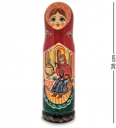 МР-25/ 74 Футляр для бутылки  Самовар