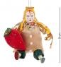 RK-488 Кукла подвесная Шут с клубникой