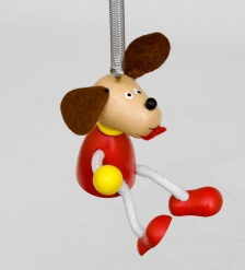 Игрушка на пружинке  Собака