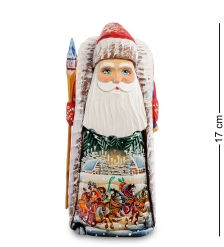 РД-25 Фигурка Дед Мороз  Резной  20см