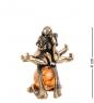 AM- 311 Фигурка  Знак зодиака - Близнецы   латунь, янтарь