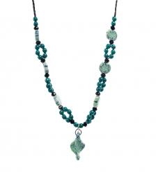 CMS-55/ 1 Фарфоровое ожерелье  Pavone