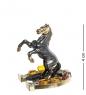 AM- 416 Фигурка Лошадь на подкове  латунь, янтарь