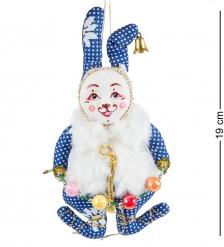 RK-462 Кукла подвесная «Кролик с бусами» - Вариант A