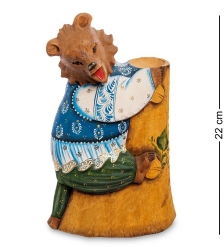 РД-64 Фигурка Медведь  Резной  22см