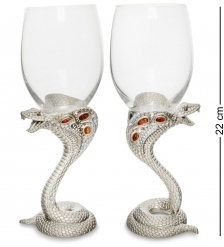 WIN-220 Набор бокалов для вина Змея сер.